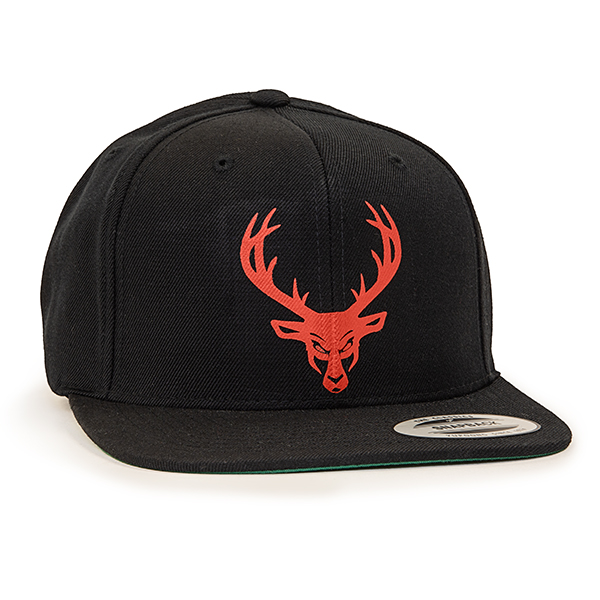 Black / Red Logo