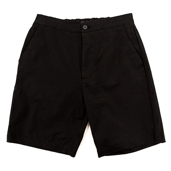 Bucked Up Black Golf Shorts