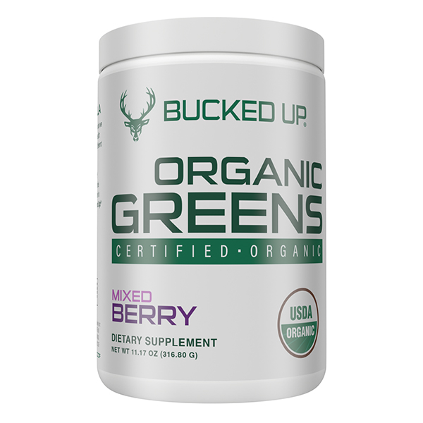Bucked Up Organic Greens